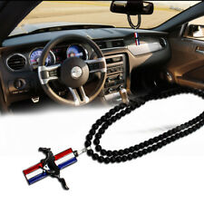 Pony Horse Hanging Pendant Rearview Mirror Car Accessories for Ford Mustang