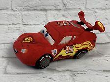 "Lightning McQueen Plush DISNEY Cars Rusteze Stuffed Toy 9"" Disney Parks World"