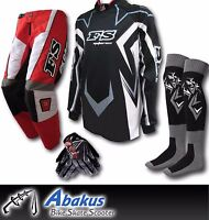 YOUTH MX MOTOCROSS JERSEY+PANTS+GLOVES*RED*-Dirt Bike Gear/MotoX/Junior/Kids/ATV