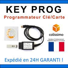KEY PROG - Outil programmateur de clés OBD2 - CAN CLIP RENAULT NISSAN FORD