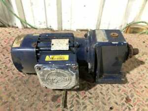 Stöber C002N0500D63M4 0.18kW Gearmotor 5.6/56RPM 220-240/380-420V 3PH