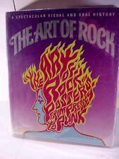 THE ART OF ROCK POSTER BOOK Paul Grushkin Abbeville Press, Printed in Japan 1987
