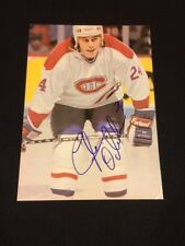 Lyle Odelein Signed Montreal Canadiens Magazine Photo - PSA Guarantee