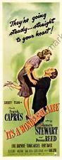 It'S A Wonderful Life Movie Poster Insert #01 Replica