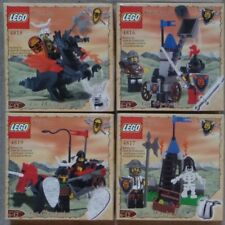 Lego 4816 4817 4818 4819 Dragon Knight Dungeon Castle Sets New MINT Sealed 2000