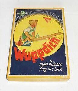Si-Si Wuppdich mein Hütchen flieg ins Loch 1959 DDR Hütchenspiel Nr.125