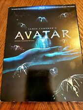 Avatar (Blu-ray Disc, 2010, 3-Disc Set, Extended Collectors Edition) Complete!