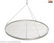 55 cm + Seilaufhängung Edelstahl Grillrost rund Grill Rost Gitter BBQ NEU