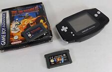 Nintendo Game Boy Advance CONSOLE AGB-001 avec deux jeux incl Star Wars-Working