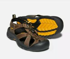 Keen Venice Bison Leather Ankle Strap Outdoor Hiking Sandal Men's US Size 10 NEW