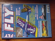 $$z Revue Fly International N°87 Plan encarte Ronald  Predator  Eauze  Piper J3
