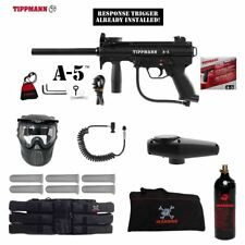 Tippmann Maddog A-5  Response Trigger Corporal Paintball Gun Package