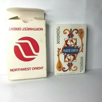Vintage Nothwest Orient Airlines Playing Cards Sealed Deck