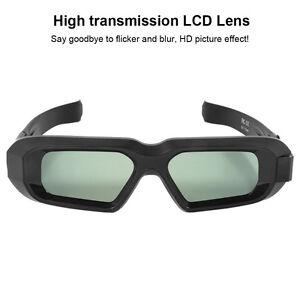 Aktive Shutter 3D Brille Universal für Epson Samsung Sharp 3D TVs USB Blue-tooth