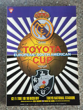 More details for 1998 - club world cup final programme - real madrid v vasco da gama