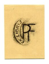 FINGESTEN Michel, Ex libris P. F (Peter Fingesten), Berlin 1935 ca Deeken 180