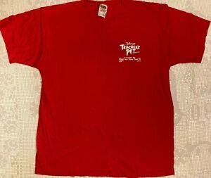 Disneys Teachers Pet Gary Baseman rare tee shirt Large