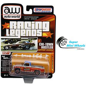 "Auto World 1:64 - Racing Legends - 1973 Chevrolet C10 ""CHI TOWN HUSTLER"""