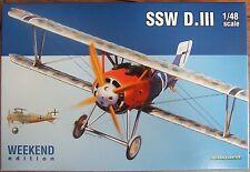 EDUARD 1/48 SSW D.III 8484 'Weekend edition' Siemens OOP **NEW**
