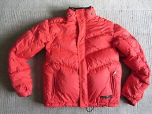 OAKLEY Puffer Goose Down Feather Jacket Size M - L puffa quilted padded winter