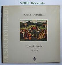 SAWT 9505 - CICONIA / DUNSTABLE - Geistliche Musik um 1400 - Ex Con LP Record