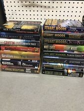 HARDCOVER BOOK Lot Woods, Griffin, Ludlum More! 20+ Lbs