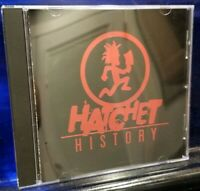 Insane Clown Posse - Hatchet History CD Psy 3020 1st Press Twiztid Dark Lotus