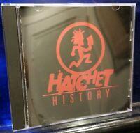 Insane Clown Posse - Hatchet History CD Psy 3020 1st Press Twiztid Dark Lotus