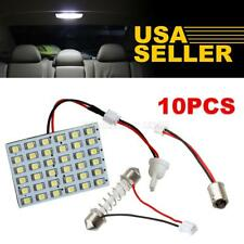 10x Universal White 36-SMD LED Interior Lights Dome Map Trunk Cargo Replace Lamp