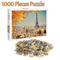 1000 Pieces Jigsaw Puzzles Eiffel Tower Adult Kids Educational Puzzle Toys Gifts