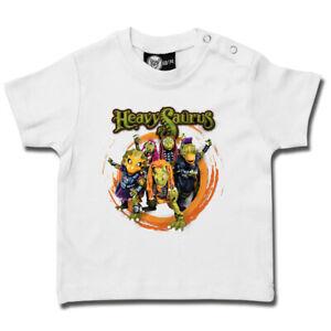Heavysaurus (Rock 'n Rarr) - Baby T-Shirt von Metal-Kids