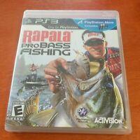 Rapala Pro Bass Fishing - SONY PS3 PlayStation Move Compatible Game