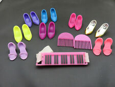 JEM AND THE HOLOGRAMS 16 SHOE LOT COMBS KEYBOARD ACCESSORY HASBRO PARTS