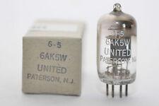United Paterson Mil 6ak5w/5654/ef95 Tube pour telefunken/Tab v81, NOS