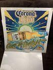 LARGE CORONA LIGHT BEER METAL SIGN  Rare Design Grab The Limelight 23 X 23 Inch