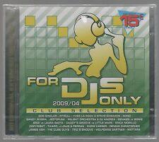 FOR DJS dj's ONLY  2009/04 CLUB SELECTION - 2 CD F.C. SIGILLATO!!!