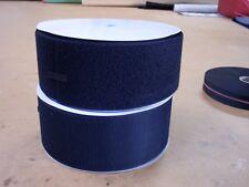 100mm wide  SEW ON  Hook & Loop  tape, BLACK,  Price per Metre.