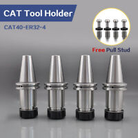 4 Pcs CAT40 ER32 Collet Chuck Tool holder CNC Milling CAT40-ER32-4 G2.5/25000