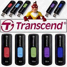 Clé USB TRANSCEND 4 8 16 32 64 Go Gb - Série JetFlash 500 ( modèle rétractable )