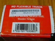 Peco #552-SL8300 (1 Box of 25 pcs Code 83) Flexible Track Wood Style Ties