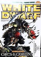 Warhammer White Dwarf ORCS & GOBLINS Magazine WD375 AUGUST  2011