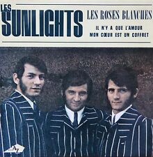 """EP Les Sunlights  """"Les roses blanches"""""""