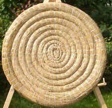 1 Zielscheibe STROHSCHEIBE Target 65-6cm Bogensport Zielscheiben Straw Disc Hay