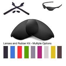 Walleva Lenses and Rubber Kit for Oakley Half Jacket 2.0 - Multiple Options