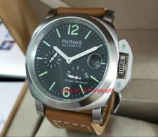 Parnis Power Reserve Indicator Automatic mechanical Men's watch