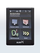 Bury CC9068 Freisprechanlage Set Bluetooth BMW 5er E39 E60 E61 ab 2001 teil
