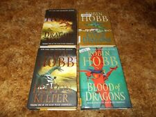 ROBIN HOBB~ COMPLETE RAIN WILDS CHRONICLES~FOUR HARDCOVERS~1ST EDITION~1ST PRINT