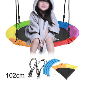 Giant Tree Swing 100cm Outdoor Hammock Chair Kids Children Yard Play Equipment
