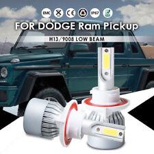 For Dodge Ram 1500 2011-2009 CREE LED Headlight Power Bulbs H13/9008 Hi/Low Beam