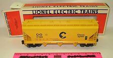 Lionel 6-17100 C&O Chessie System ACF 3-bay hopper